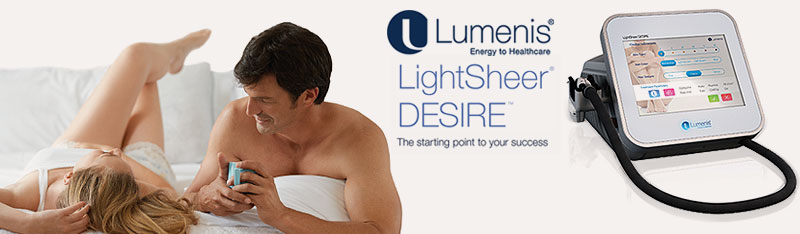 Lumenis LightSheer Desire Medical Grade 4 Diode Laser Hair Reduction