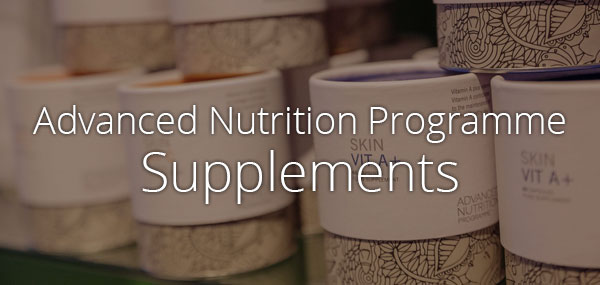 Advanced Nutrition Prograpmme Supplements available from Beauty Within Killorglin