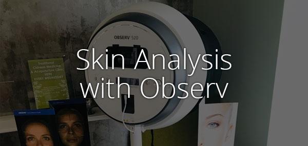 Skin analysis with Observ - advanced skincare analysis