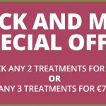 Pick & Mix Treatment offer for the month of September